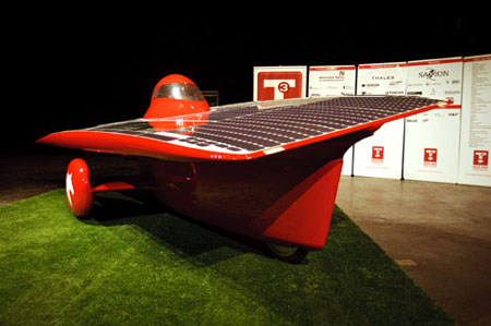 21revolution Solar Powered Racecar