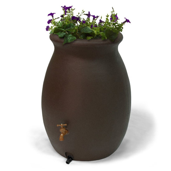 Algreen Castilla 50-Gallon Rain Barrel