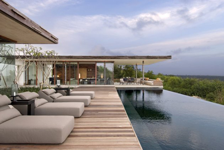 Alila Villas Uluwatu with Its Exteriors Made From Recycled Woods by WOHA