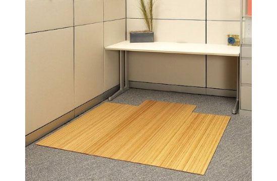 Anji Mountain Bamboo Chairmat and Rug Co. Roll-Up Bamboo Chairmat
