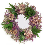 Welcome Spring With Love To Nature Using Artisanal Hydrangea Wreath