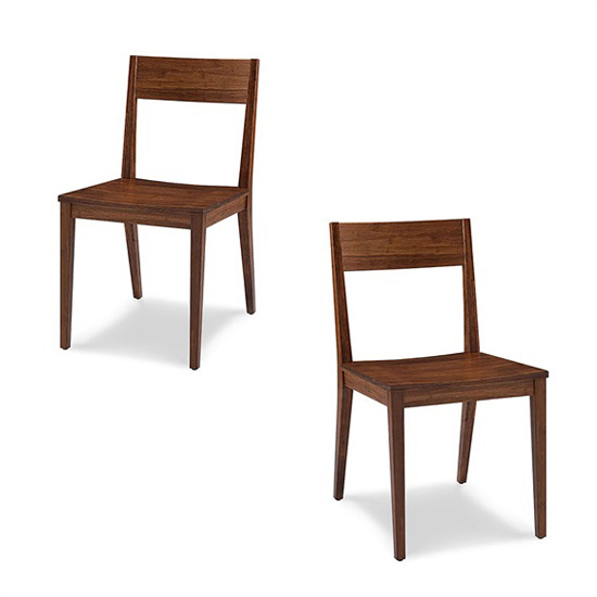 Bamboo Pure Harvest Dining Chair Reflects Warmth of Nature in Your Dining Room
