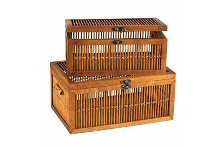 Delicieux Bamboo Storage Chest