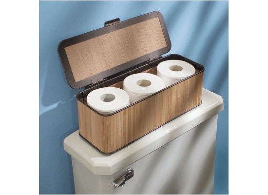 Bamboo Toilet Paper Holder