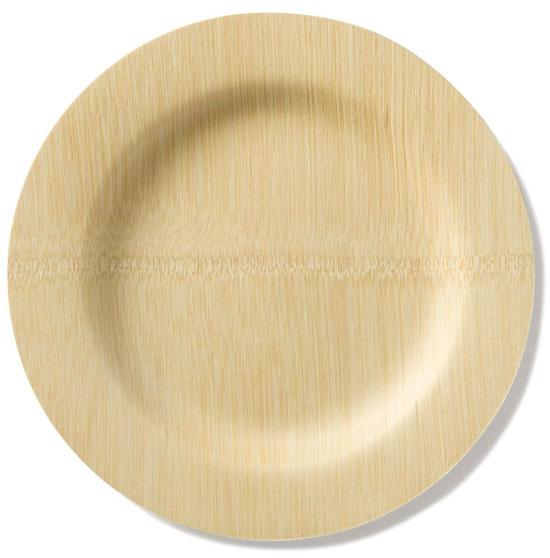 Bambu 11-inch Round Veneerware Plates