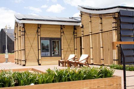 Solar Powered Bambu House An Eco Friendly And Modern House