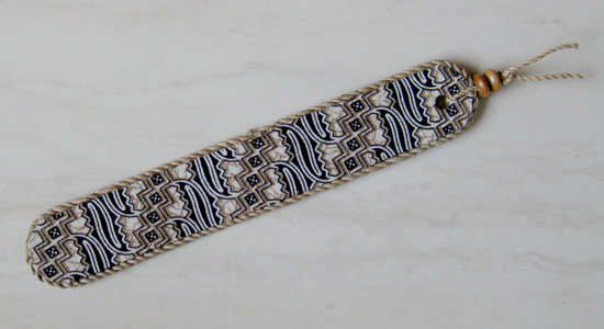 Batik Bookmark from Little Green Trade