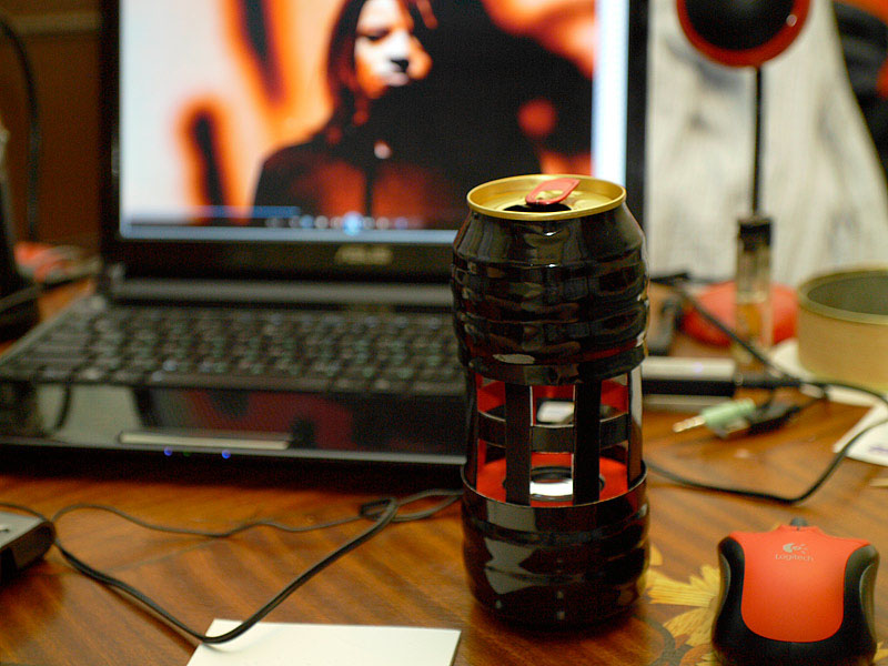Beer Can Speaker