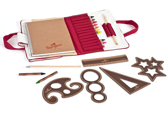 Begin Again Eco-friendly On The Go Artist Travel Kit