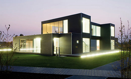 Fab House eco-friendly pre-fab housebestetti associati studio | green
