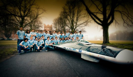Bethany Solar Racing Car