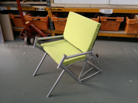 Bicycle Frame Eco Chair