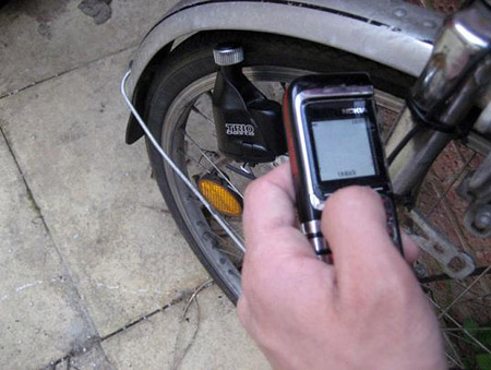 Pedal Powered Cell Phone Charger