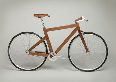 Black Walnut Bike Frame