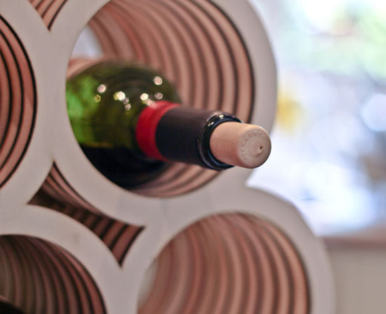 Bolla Wine Rack by Neil Macqueen