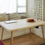 Butterply Desk : Multifunctional Sustainable Plywood Desk Features Smart Joinery System