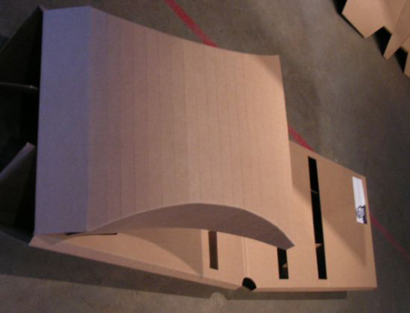 Cardboard Bed, Perfect For The Homeless People
