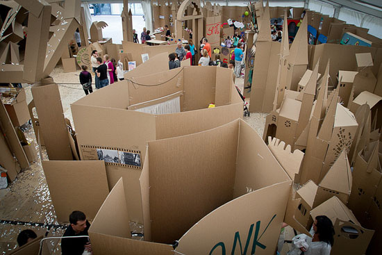 Cardboard Towns by Country Cardboardia
