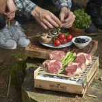 Casusgrill: 100% Natural and Biodegradable Instant BBQ with Oxilite Bamboo Charcoal