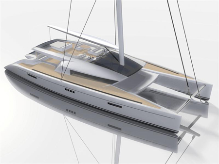 Eco-friendly Catamaran Concept