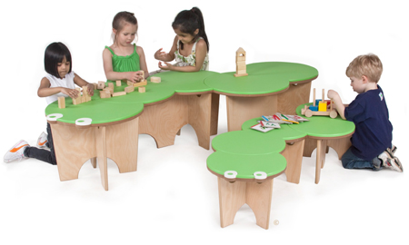 Caterpillar Activity Bench