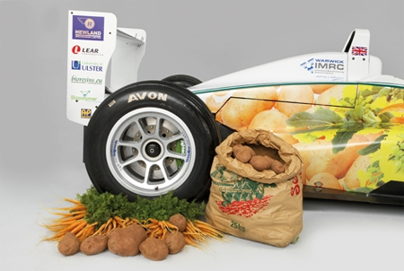 Eco-friendly Formula3 Racer