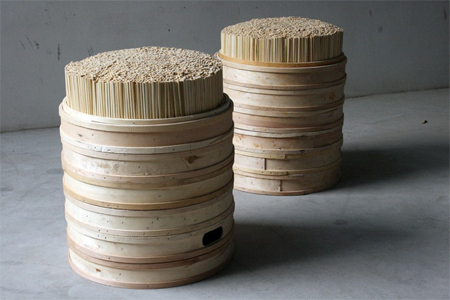 Chopstick and Steamer Stool