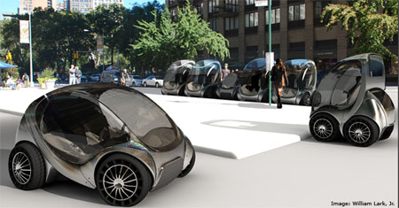 City Car A Zero Emission Electric Car Concept Green Design Blog
