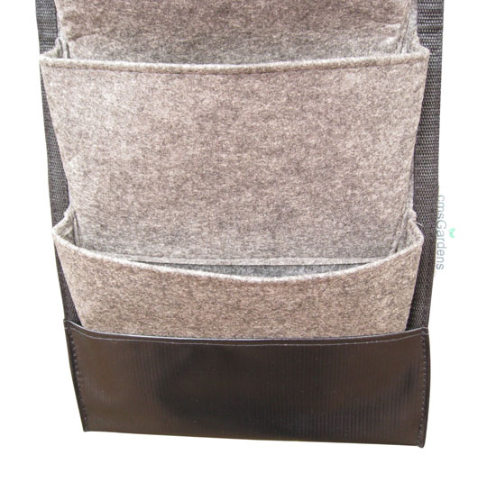 cmsGardens 4 Pocket Vertical Wall Garden Planter