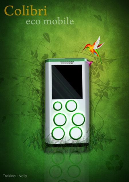 Colibri Eco-Mobile Phone