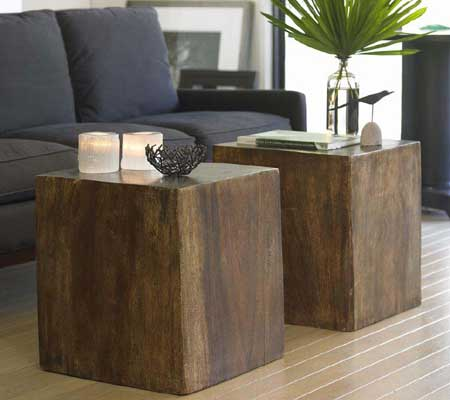 Convertible Wood Cube from Viva Terra