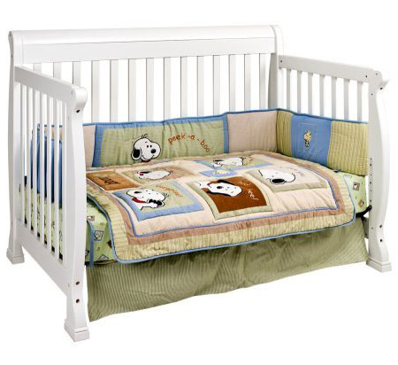 Green DaVinci Kalani Convertible Baby Crib Grows With Your Children