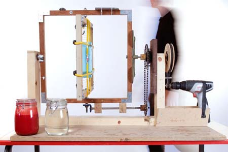 DIY Rotating Molding Machine