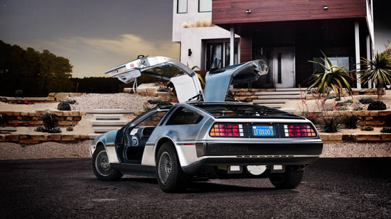 DMC-12 EV Is The Electric Card Of DeLorean For 2013