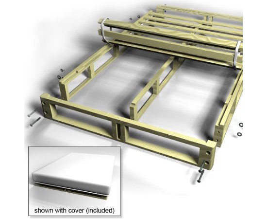 collapsible bed frame 1