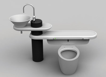 Eco bath. Eco Bath  A Bathroom Fixture Design That Will Recycle Water