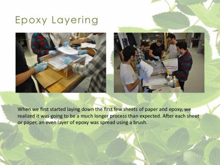 Eco-Epoxy Chair