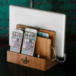 Eco-Friendly Bamboo Multi Charging Station to Keep Your Desk Clean