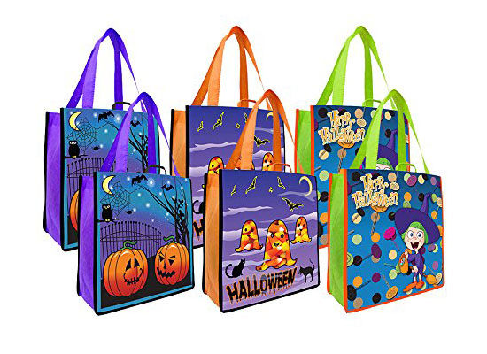 Green Halloween - Earthwise Halloween reusable shopping bags