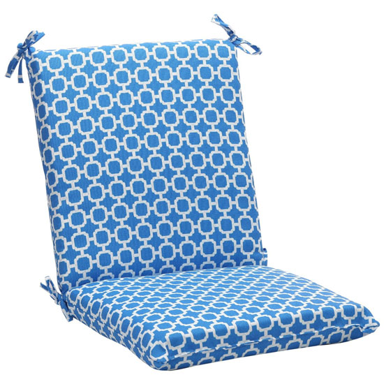 ecofriendly recycled square outdoor chair cushion
