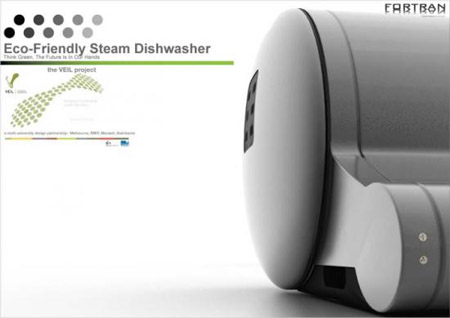 Eco-Friendly Steam Dishwasher