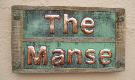 Eco House Sign