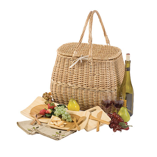 Eco-Picnic Basket for Two
