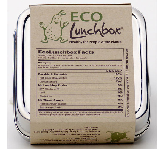 Ecolunchbox Solo Cube Lunch Box