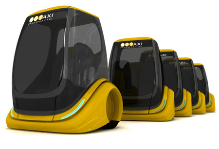Electric Powered Robotic Taxi