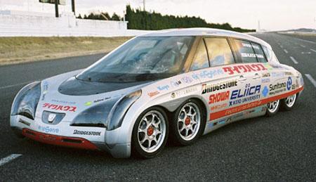Eliica Electric Car