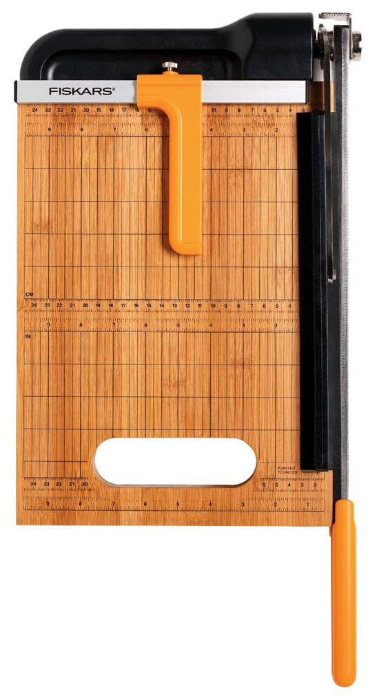 Fiskars Bamboo Base Paper Trimmer
