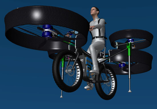 Flying Bike Concept