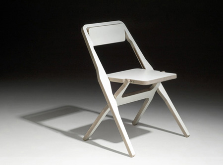 The 2F Folding Chair, Perfect for House With Small Space