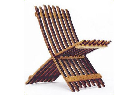 Folding Barrel Chair